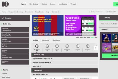 10Bet Screenshot
