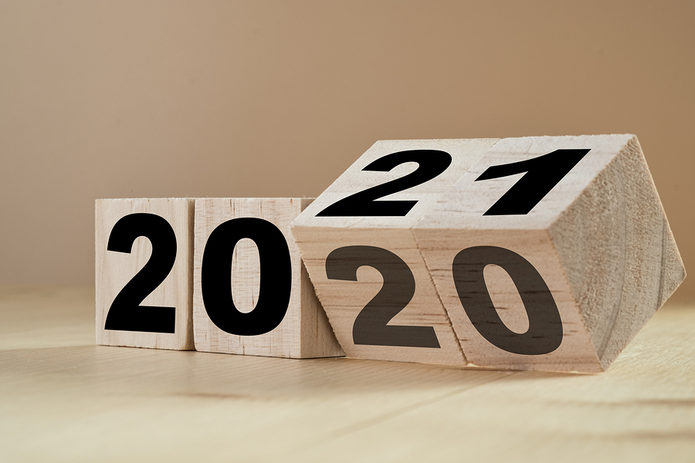 2020 and 2021 Wooden Blocks