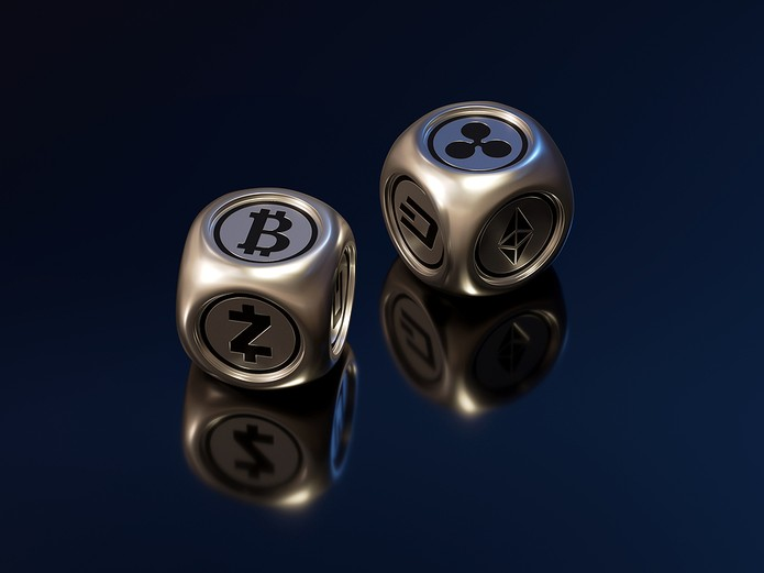 3D Cryptocurrency Dice