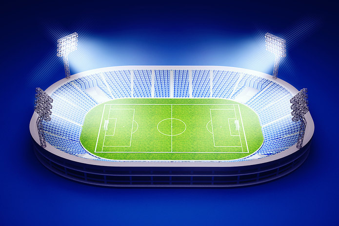 3D Football Stadium