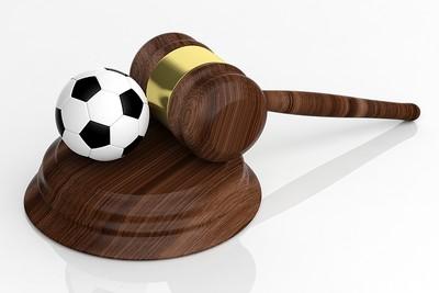 3D Gavel and Football