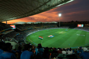 Adelaide Oval Cricket Ground at Night