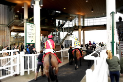Aintree Horses Parading