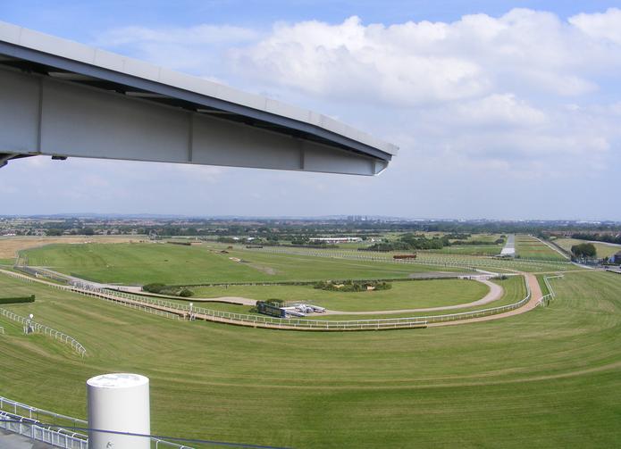 Aintree Racecourse Chairmans Box View