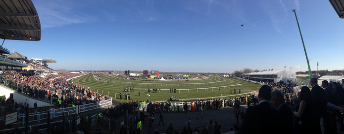 Aintree Racecourse Panorama