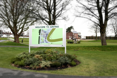 Welcome to Aintree Sign