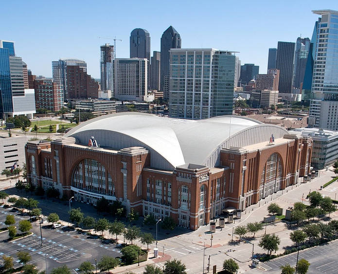 American Airlines Center in Dallas, Texas, USA