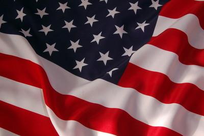 American Flag Ruffled