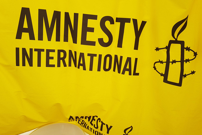 Amnesty International Flag