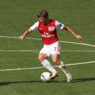 Andrei Arshavin Playing for Arsenal