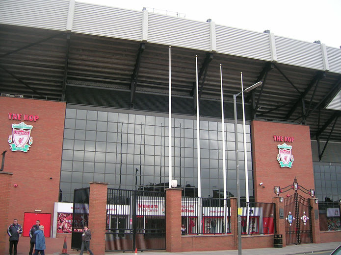 Anfield in 2008