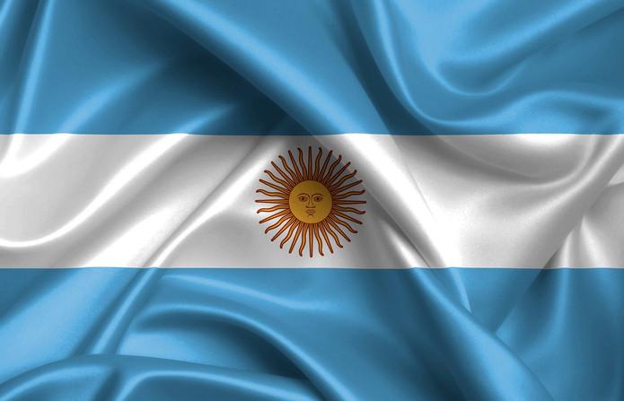 Argentina Fabric Flag
