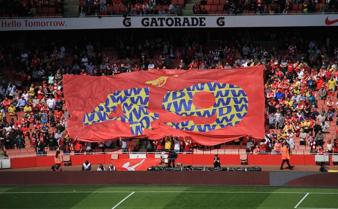 Arsenal 49 Games Unbeaten Flag