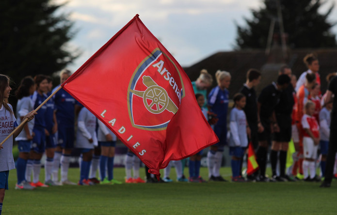 Arsenal Ladies Flag
