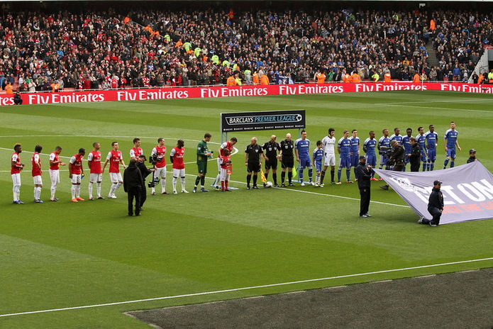 Arsenal v Chelsea at the Emirates