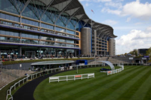 Grandstand at Ascot Racecourse