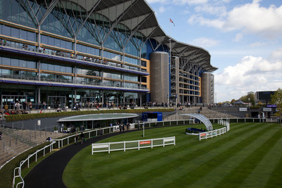 Ascot Racecourse Parade Ring and Grandstand