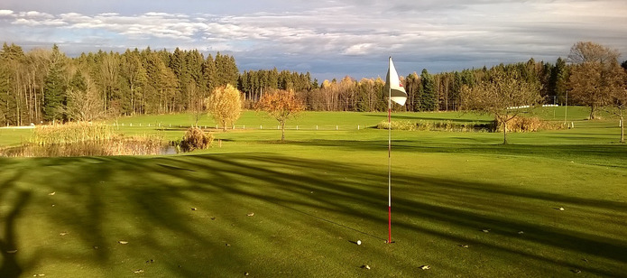 Autumnal Golf Course