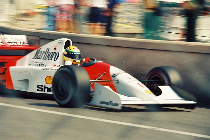 Ayrton Senna Mclaren in 1992