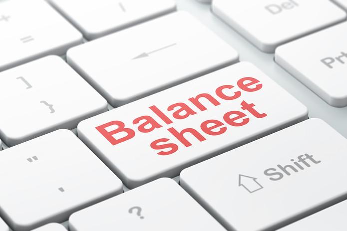 Balance Sheet Keyboard Button