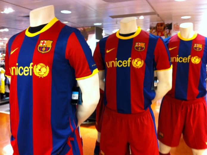 Barcelona Football Shirts