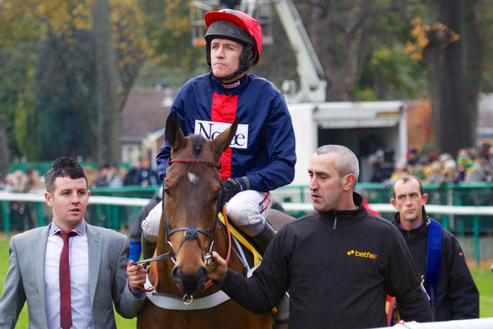 Barry Geraghty and Bobsworth
