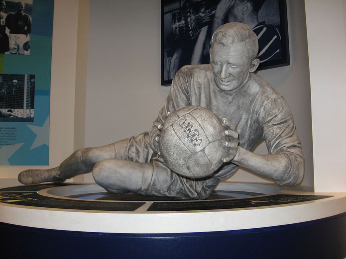 Bert Trautmann Sculpture