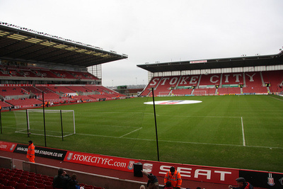 Bet365 Stadium in Stoke