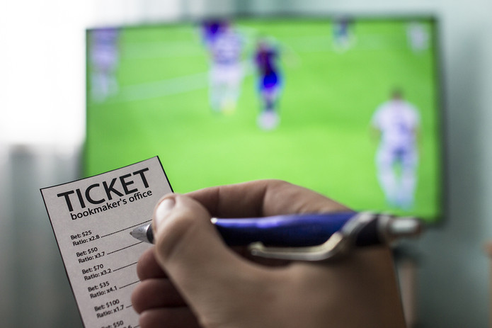 Betting Coupon and Football on Television