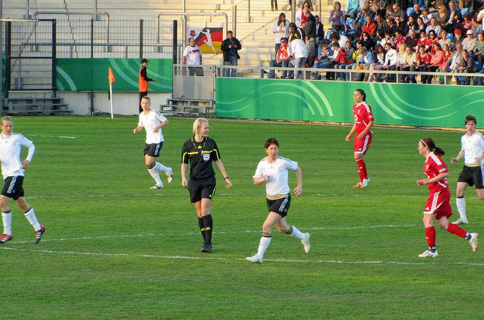 Bibiana Steinhaus Refereeing Match
