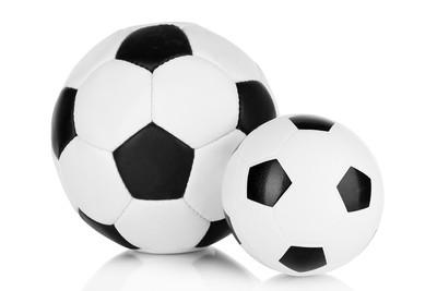 Big and Small Footballs
