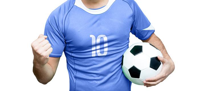 Blue Football Shirt