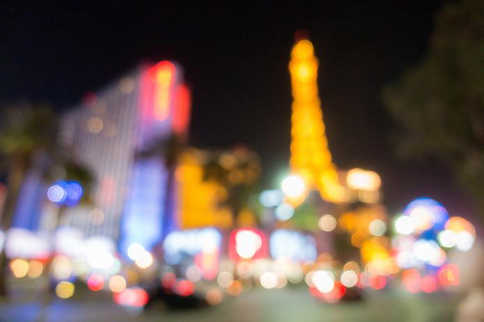 Blurred Vegas Image