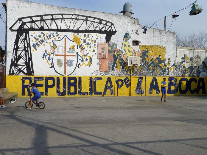 Boca Juniors Graffiti