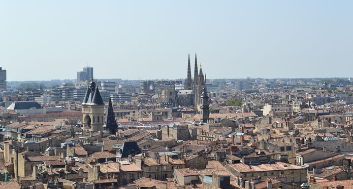 Bordeaux City View