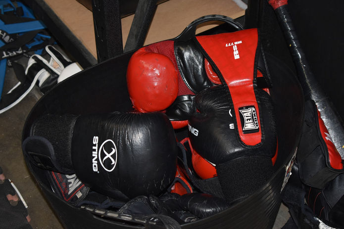 Boxing Gloves in Bag