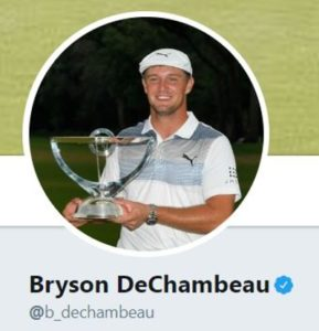 Bryson DeChambeau Twitter