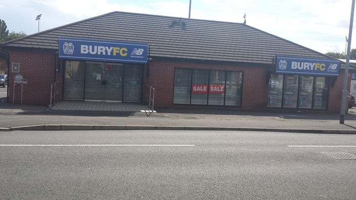 Bury FC Club Shop