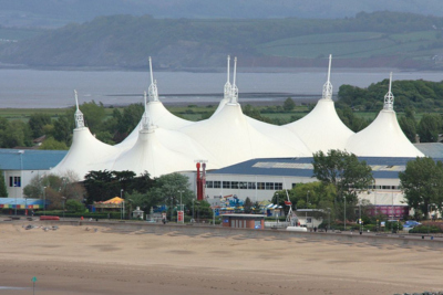 Butlins Resort in Minehead England