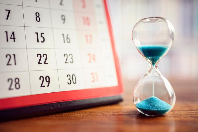 Calendar and Egg Timer