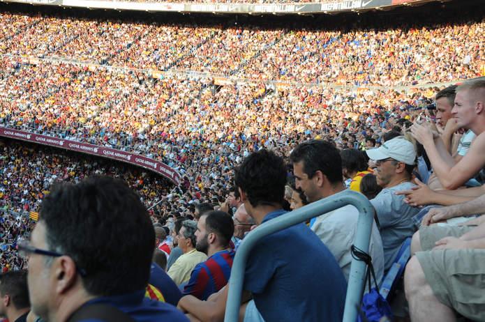 Camp Nou Crowd