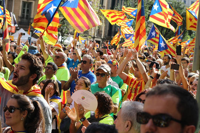 Catalan Independence March