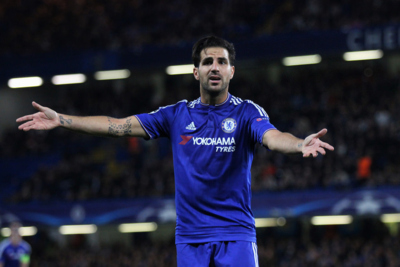 Chelsea and Spain Footballer Cesc Fabregas