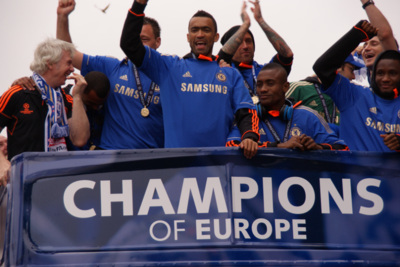 Chelsea Champions League Victory Parade