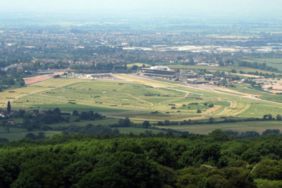 View of Cheltenham Racecourse