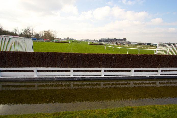 Cheltenham Racecourse Water Jump