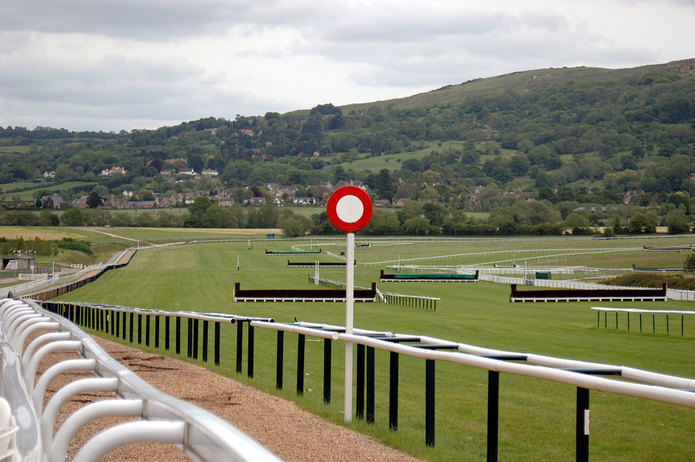 Cheltenham Racecourse Winning Post