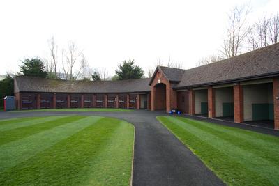 Cheltenham Racecourse Stables