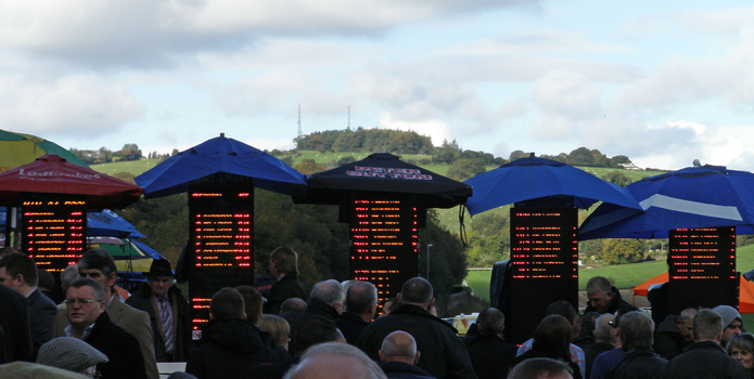 Bookmakers At Chepstow Racecourse