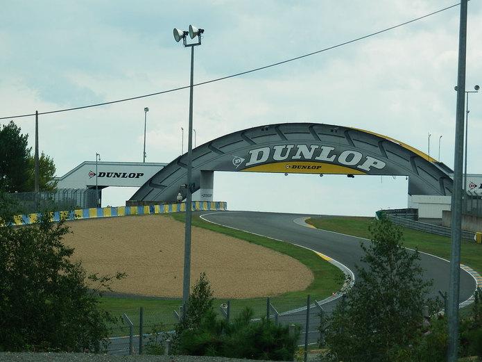 Circuit de la Sarthe Dunlop Bridge